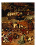 The Triumph of Death, circa 1562 Giclee Print by Pieter Bruegel the Elder