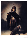 Self Portrait in Oriental Costume, 1631 Giclee Print by  Rembrandt van Rijn