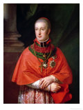 Rudolf of Habsburg, Archduke of Austria (1788-1831), Youngest Son of Leopold II (1747-93) Giclee Print by Johann Baptist Lampi