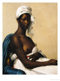 Portrait of a Negress, 1799-1800 Giclee Print by Marie Guilhelmine Benoist