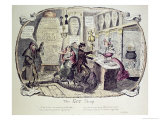The Gin Shop, 1829 Giclee Print by George Cruikshank