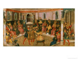 The Death of Julius Caesar, circa 1446-50 Giclee Print by Giovanni di Tommaso Angelo 