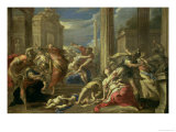 Massacre of the Innocents Giclee Print by Valerio Castello