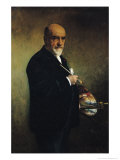 Self Portrait Giclee Print by Leon Joseph Florentin Bonnat