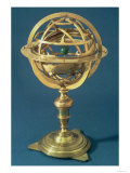Armillary Sphere Made on the Ptolemaic System by Adam Heroldt, Rome, 1648 Giclee Print