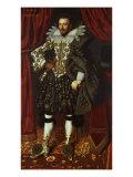 Edward Sackville, 4th Earl of Dorset (1590-1652), 1613 Giclee Print by William Larkin