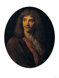 Portrait of Moliere, Giclee Print