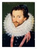 Sir Walter Raleigh (1552-1618) Giclee Print