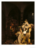 The Alchymist, 1771 Premium Giclee Print by Joseph Wright of Derby