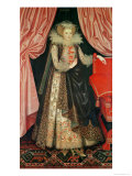 Dorothy St. John, Lady Cary, circa 1614 Giclee Print by William Larkin