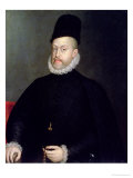 Philip II of Spain (1527-98) 1565 Giclée-tryk af Sofonisba Anguisciola