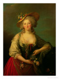 Elisabeth of France (1764-94) Called Madame Elizabeth, circa 1782 Giclee Print by Elisabeth Louise Vigee-LeBrun