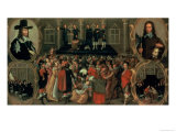 An Eyewitness Representation of the Execution of King Charles I (1600-49) of England, 1649 Giclee Print by  Weesop