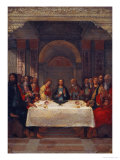 The Institution of the Eucharist, circa 1490 Giclée-tryk af Ercole de'Roberti