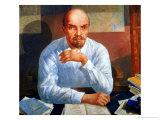 Portrait of Vladimir Ilyich Lenin (1870-1924), 1934 Giclee Print by Kuzma Sergievitch Petrov-Vodkin