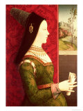 Mary of Burgundy (1457-82) Daughter of Charles the Bold, Duke of Burgundy (1433-77) Giclee Print by Ernst Maler