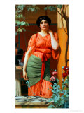 Nerissa, 1906 Giclee Print by John William Godward