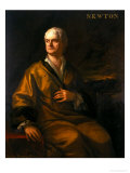 Sir Isaac Newton, 1710 Giclee Print by Sir James Thornhill