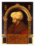 The Sultan Mehmet II (1432-81) 1480 Giclee Print by Gentile Bellini
