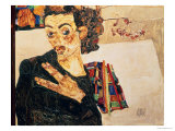 Self Portrait, 1911 Giclee Print by Egon Schiele