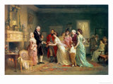 Washington's Birthday, 1798 Giclee Print by Jean Leon Gerome Ferris