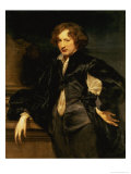 Self Portrait, circa 1620-21 Giclee Print by Sir Anthony Van Dyck