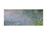Waterlilies: Morning, 1914-18 (Centre Right Section) Giclee Print by Claude Monet