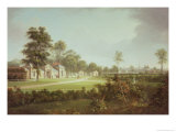 Annefield with Glasgow Beyond Giclee Print by Alexander Nasmyth