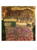 Country House by the Attersee, circa 1914 Impressão giclée por Gustav Klimt