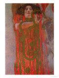 Hygieia, 1900-7 Lámina giclée por Gustav Klimt