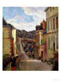 A Suburban Street, 1884 Giclee Print by Paul Gauguin