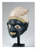 Yoruba Mask from the Gelede Society, Nigeria, 18th-20th Century Giclee Print