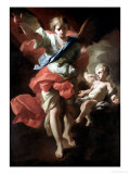 Guardian Angel, circa 1685-94 Giclee Print by Andrea Pozzo