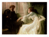 The Confession Giclee Print by Frank Bernard Dicksee