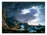 A Seastorm, 1752 Giclee Print by Claude Joseph Vernet