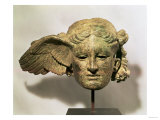 Head of Hypnos, or Sleep, an Auxiliary of Hades, Represented as a Winged Youth Reproduction procédé giclée