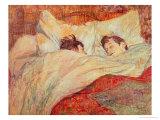 Henri de Toulouse-Lautrec - The Bed, circa 1892-95 - Giclee Baskı