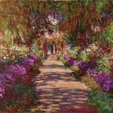 ジヴェルニーの庭 1902年 プレミアムジクレープリント : クロード・モネ