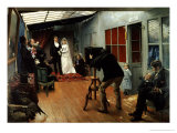 Wedding at the Photographer's, 1878-9 Giclee Print by Pascal Adolphe Jean Dagnan-Bouveret