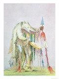 Blackfoot Medicine Man Giclee Print by George Catlin