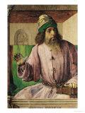 Portrait of Aristotle (384-322 BC), circa 1475 Giclee Print by Joos van Gent