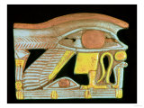 Wedjat Eye Amulet (Faience) Giclee Print