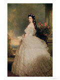 Elizabeth (1837-98), Empress of Austria, 1865 Giclee Print by Franz Xavier Winterhalter