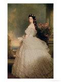Elizabeth (1837-98), Empress of Austria, 1865 Giclee Print by Franz Xavier Winterhalter