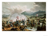 Battle of Morales, 2nd June, 1813 Giclee Print by William Heath
