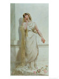The Young Bride Giclee Print by Alcide Theophile Robaudi