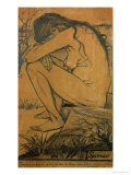 Sorrow, c.1882 Reproduction procédé giclée par Vincent van Gogh