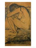 Sorrow, c.1882 Giclee Print by Vincent van Gogh
