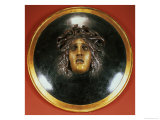 Medusa Shield Giclee Print by Arnold Bocklin