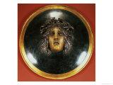 Medusa Shield Giclee Print by Arnold Bocklin